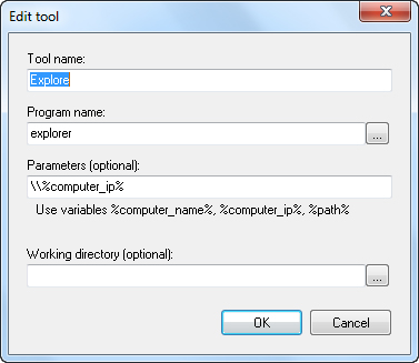 Screenshots of Remote Process Explorer - Powerful tool for
