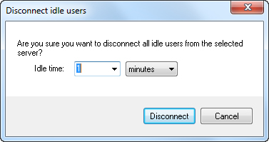 Disconnect Idle Users