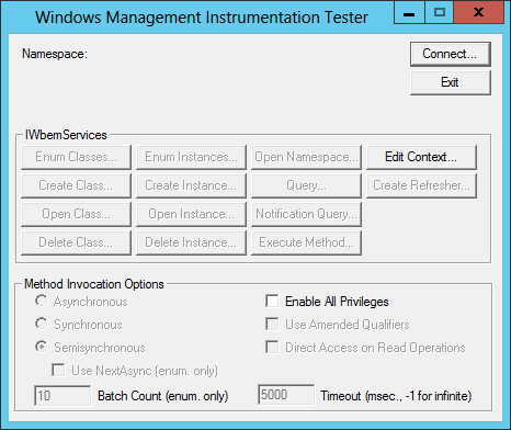 WMI Troubleshooting - Remote Process Explorer - LizardSystems