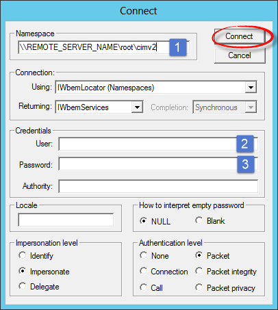 WMI Troubleshooting - Remote Process Explorer - LizardSystems